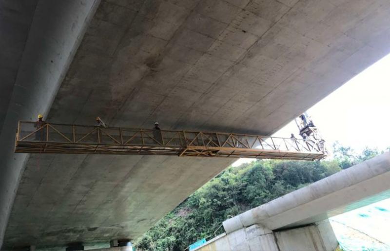 测试桥梁静载试验