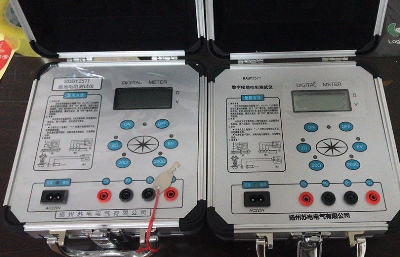建筑物接地电阻检测