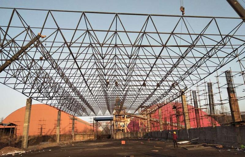 钢网架结构的变形检测